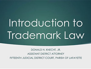 Trademark Law Thumbnail