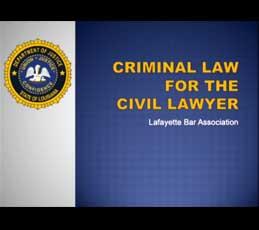 lba - criminal law